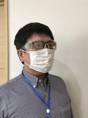 目から入るウイルスを少しでも防ぐ
