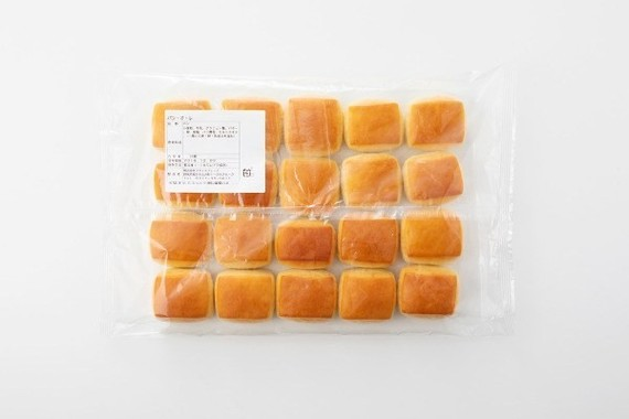 「パン・オ・レ(20個入り、税込¥897)」のパッケージ