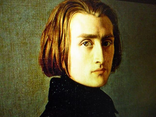 若きリストの肖像