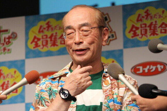 連続テレビ小説「エール」に出演した志村けんさん