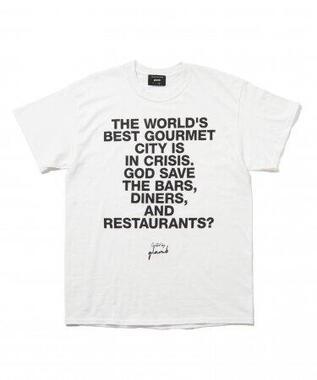 飲食店の未来をTシャツに!