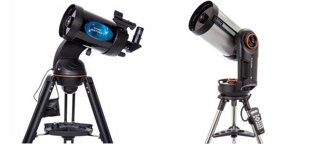 スマホの操作で簡単に天体観測が可能