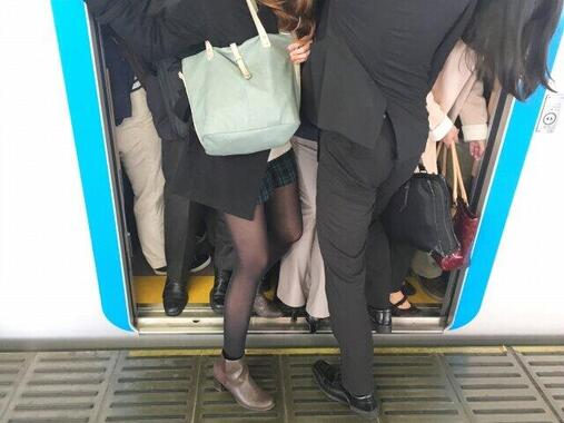 満員電車が復活で、出社避けられない人たちからお願い