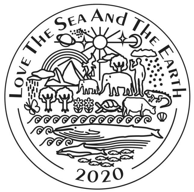 時計の裏蓋にはロゴとシンボルマークを刻印している