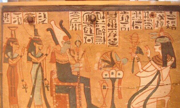 エジプトの墓の装飾などには音楽を奏でていると思しきシーンが多く見られる
