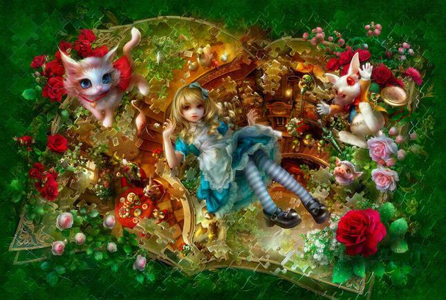 展示会にて発表予定の最新作「Alice Re:Birth (c)SHU」