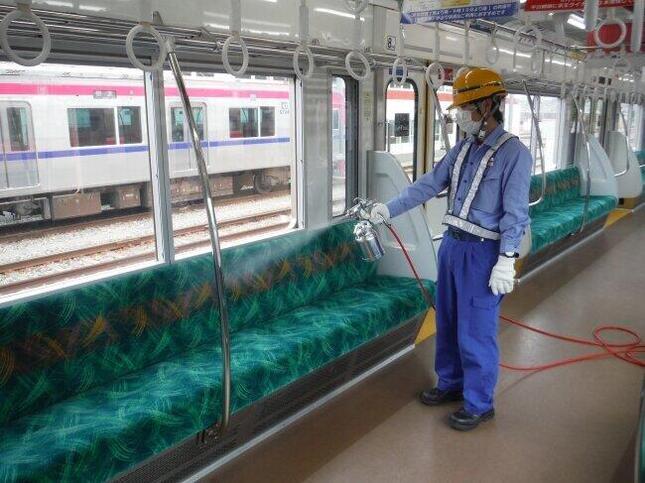 京王線・井の頭線全車両に抗ウイルス・抗菌加工を実施