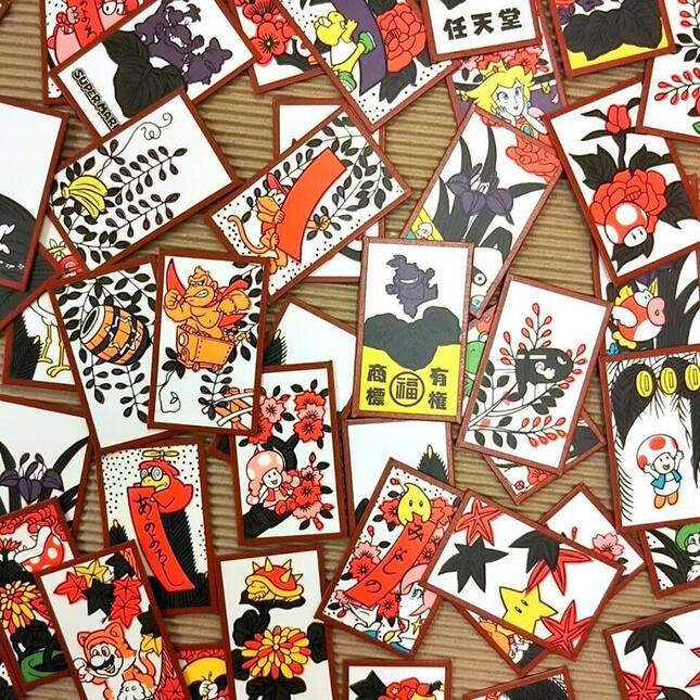 マリオやドンキーコングなど任天堂の人気キャラクターが描かれている