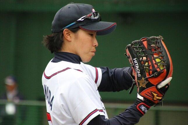 2020東京五輪にチームの主将として挑む山田恵里選手(写真提供:日立製作所)