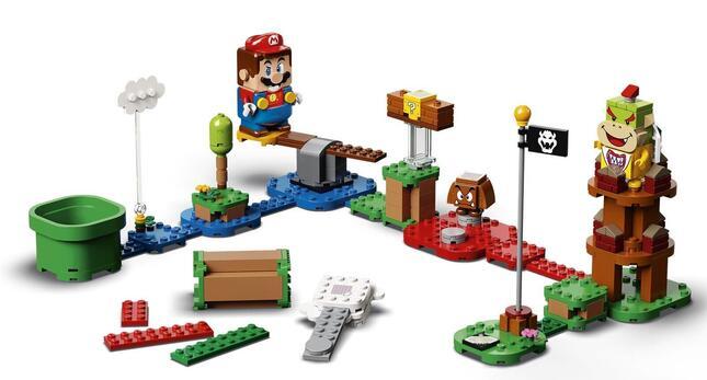 レゴブロックとゲームの世界観がインタラクティブに融合