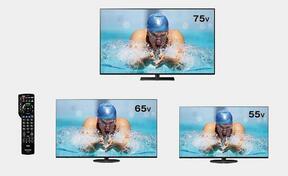 4Kも地デジもネット動画も高画質で楽しめる
