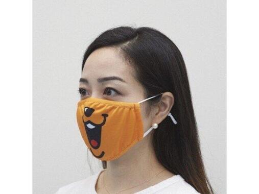 「GIANTS アジャスター付き接触冷感マスク」ジャビットデザイン