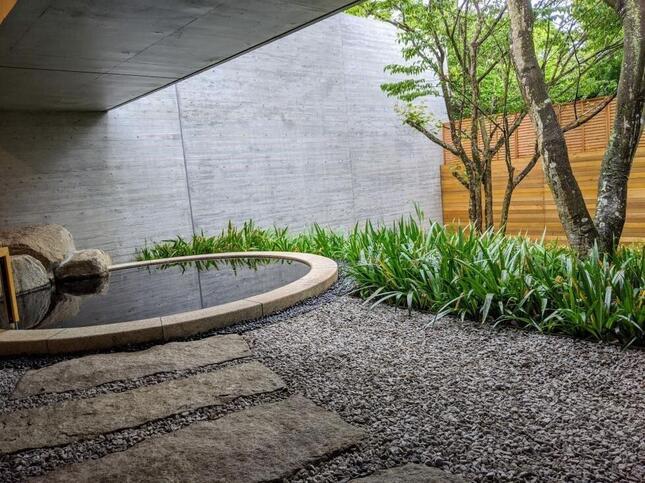 天然温泉「紅葉乃湯」の露天風呂