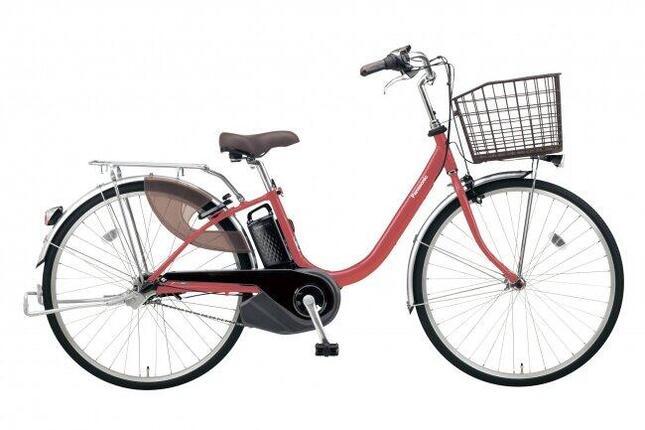 軽さにこだわった電動アシスト自転車ビビシリーズの限定カラー