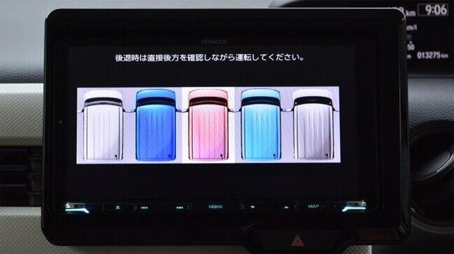 ホンダ軽で初!N-BOX用サテライトビューカメラ