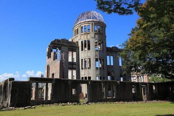 「原爆の日」に行われる、平和と原爆について学ぶ「平和学習」(写真は原爆ドーム)