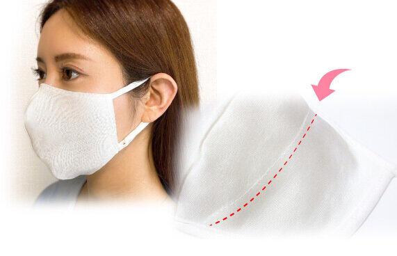 肌に優しい「フェアリーシルクマスク」をさらに改良