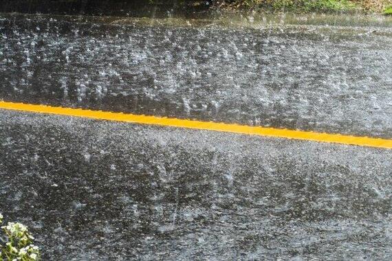 12日午後、関東南部では各地で局地的な雷雨に(画像はイメージ)