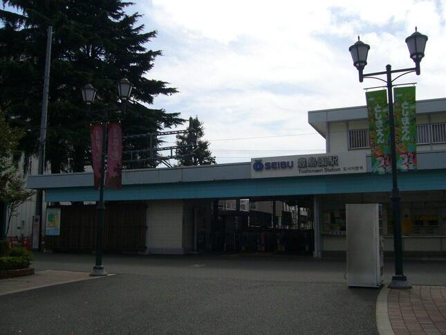 閉園が決まっている「としまえん」。「豊島園駅」の名前はどうなるか(写真は2012年当時の様子・西武鉄道より提供)