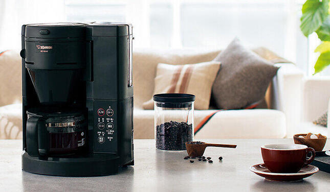 香りや風味の高い挽きたてコーヒーが自宅でも手軽に