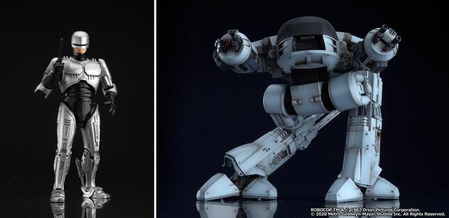日本の特撮ヒーローにも影響を受けたという「ロボコップ」が可動フィギュアに
