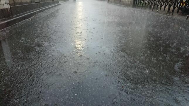 8月最後に首都圏でゲリラ豪雨