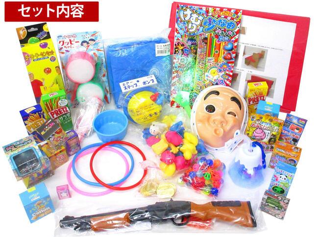 射的や輪投げなど「お祭りの定番」を堪能できるおもちゃが目白押し