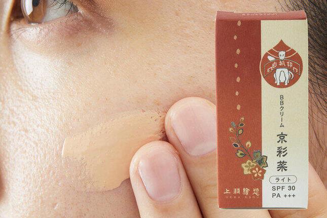 「胡粉ネイル」の上羽絵惣からBBクリーム