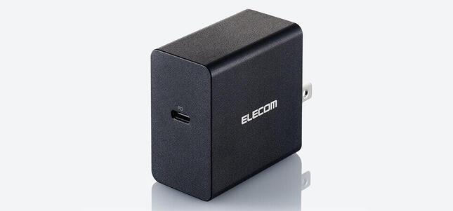 持ち運びしやすい小型軽量サイズ、ノートPCも充電可能