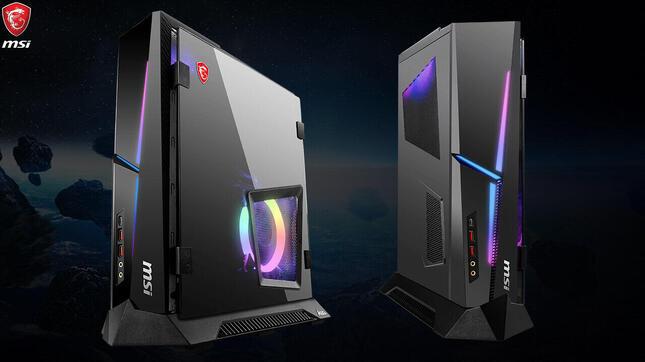 印象的なデザインの筐体に高性能、冷却性能も
