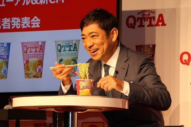 イベントに登壇した香川照之さん