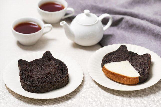 演歌の女王・藤あや子さんの愛猫が「ねこねこ食パン」とコラボ