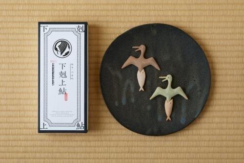 御菓子司玉井屋本舗の焼き菓子「下剋上鮎」(画像は玉井屋本舗の提供)