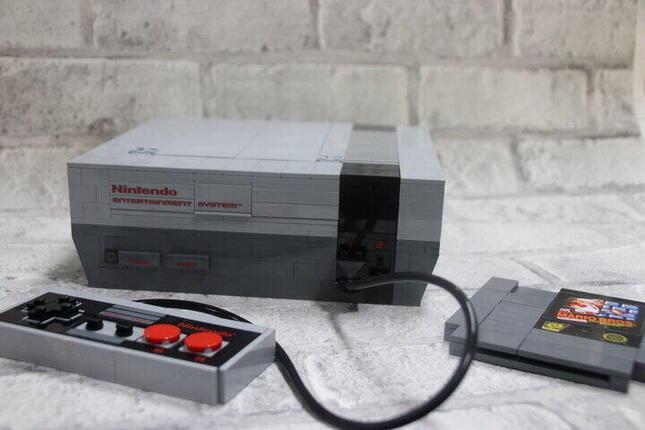「NES」もレゴでディティールまで再現できる