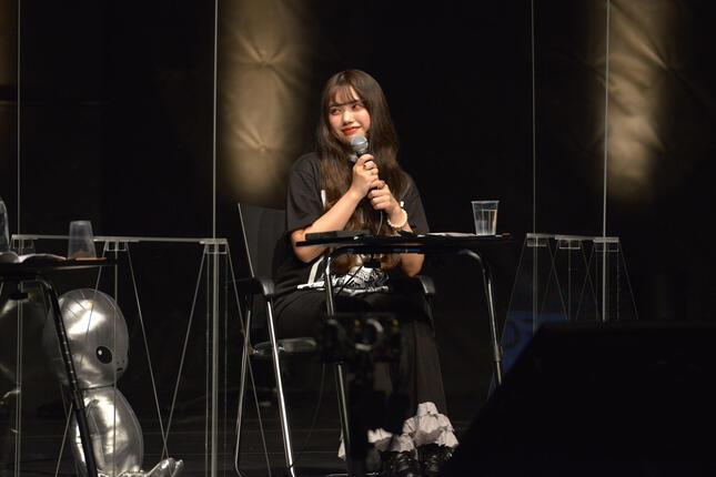 女性アイドルグループ「BLACKNAZARENE」の村田実果子さん