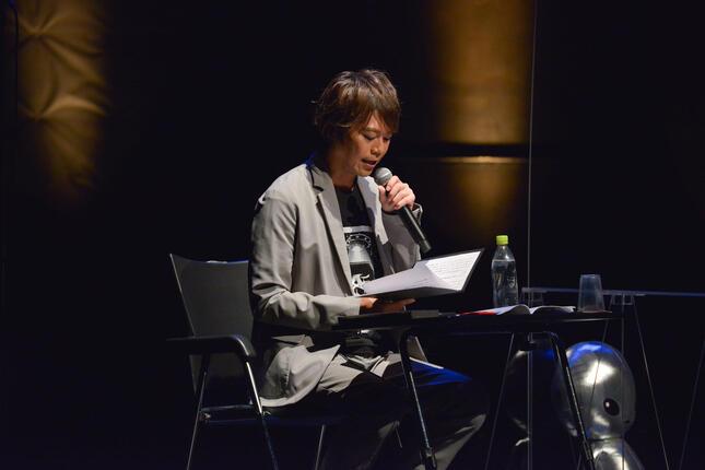 声優の浪川大輔さんがMCを担当
