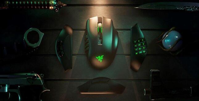 ゲームジャンルに適したボタン数のサイドプレートを装着して戦える