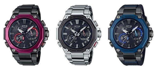 2020年秋冬の新作腕時計「MTG-B2000」