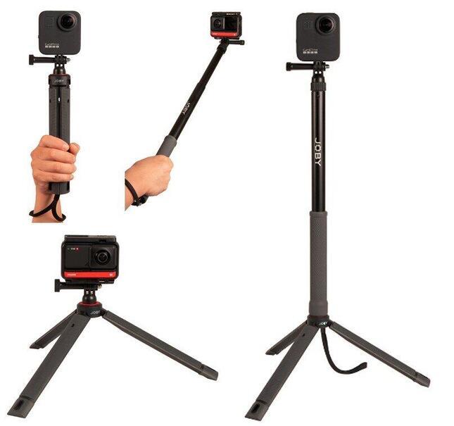 アクションカメラや360度カメラと合わせ、一味違うセルフィー撮影が楽しめる