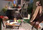 家で、会社で、アウトドアグッズでリラックス ロゴス「新型コロナ時代」の展示会