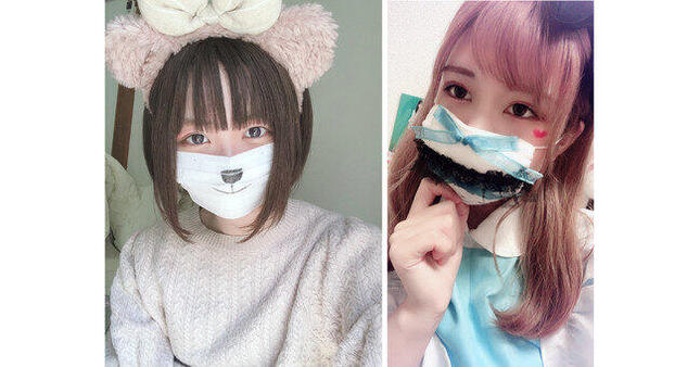 KIRINZが実施した「ハロウィーンイベント」に関するアンケート調査より(左から、KIRINZ所属アイドルの鈴宮りなさん、天野麻里さん)