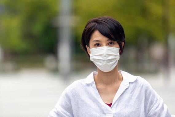 マスクをしていると伝わらない
