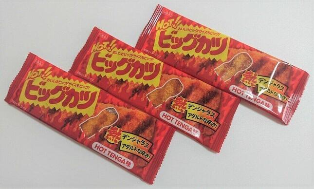 「HOTビッグカツ HOT TENGA味」