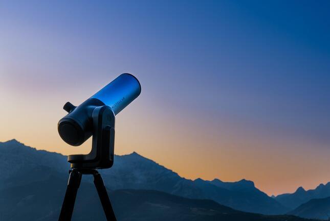 明るい都市部でもクリアで鮮明な天体観測を実現