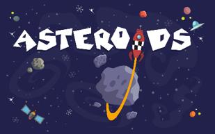 隕石を撃破するシューティングなど全7種のゲームで遊べる