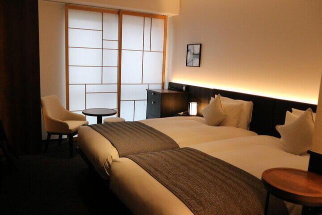 「浄教寺」との一体型ホテルに宿泊体験