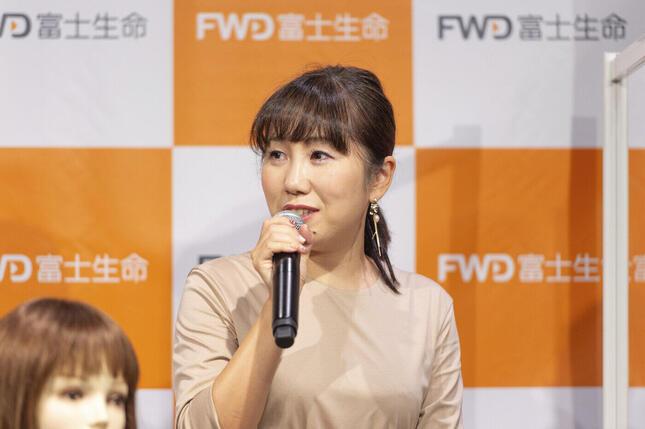 NPOふくりび事務局長の岩岡ひとみさん