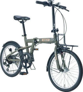 Jeepブランドの折りたたみ自転車登場!