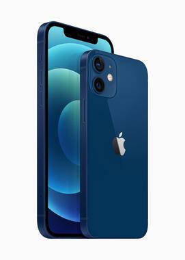 アップル公式サイトで公開されているブルーカラーのイメージ