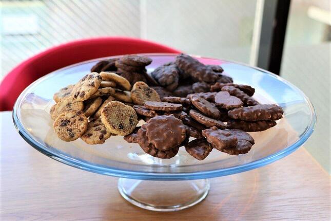 食べ放題のクッキー